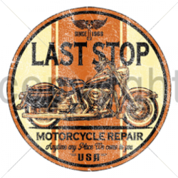 Last Stop Full Motorcycle...