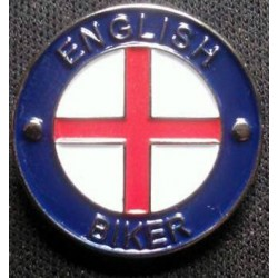 ENGLISH BIKER -  Pin Badge...