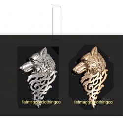 Lone Wolf pin badge