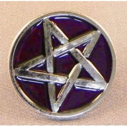 purple pentagram