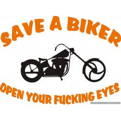 Save a Biker - Open your...