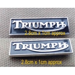 Triumph Pin Badge Quality...