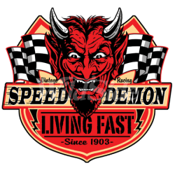 Speed Demon American Print...