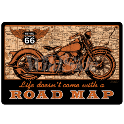 Road Map American Print Shirt