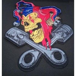 Jester large back patch