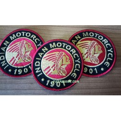 INDIAN MOTORCYCLES ROUND PATCH
